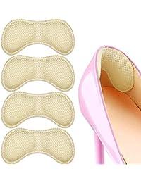 Insertos de cojín de talón SMATIS | 2 pares de plantillas de zapatos para mujeres y