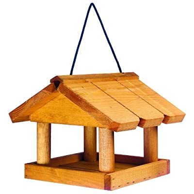 Mini Hanging Bird Table for Wildbirds over Balconies, Small Gardens, Patios, etc from Gardman