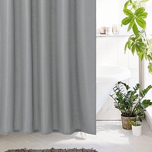 lintimes Waffel Stoff Duschvorhang, Wasserdicht Und ...