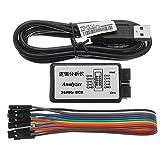 Bluelover Analyseur logique USB 24M 8CH microcontrôleur ARM FPGA outil de débogage