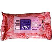 TOALLITAS DESMAQUILLANTES 15 unidades/paquete   Rosa Bulgaria (Venta 4 paquetes)