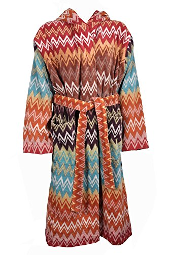 Preisvergleich Produktbild Missoni Home size M Bademantel bathrobe accappatoio peignoir albornoz - Orange Label