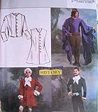Butterick 4155Mittelalter 18. 19. Jahrhundert Jacke & Weste Muster SZ LG & x-lg