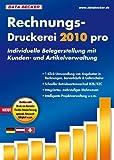 Rechnungs-Druckerei 2010 pro