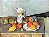 Posterlounge Alu Dibond 160 x 120 cm: Milchkrug von Paul Cézanne/akg-Images