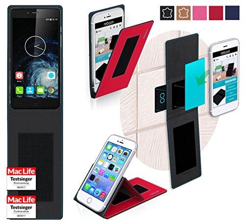 reboon Hülle für Elephone S2 Plus Tasche Cover Case Bumper   Rot   Testsieger