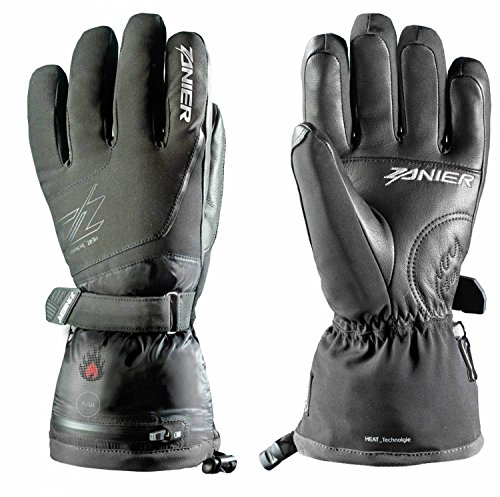 Zanier Herren Heat.ZX 3.0 Handschuhe, Schwarz, XXL