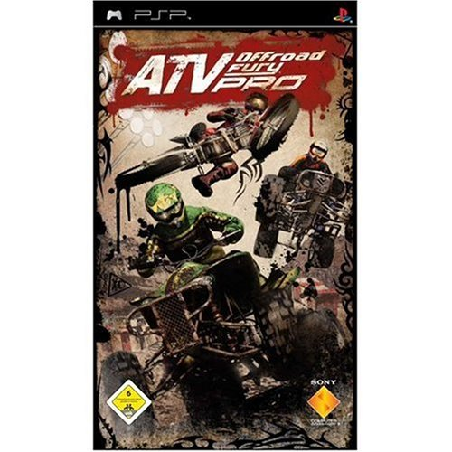 Rennspiele Psp (ATV Offroad Fury Pro)
