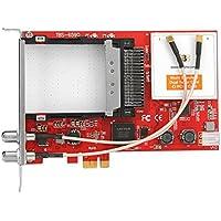 TBS 6590DVB Multi Standard Doppio Tuner, PCIe scheda TV con CI Rosso - Trova i prezzi più bassi su tvhomecinemaprezzi.eu
