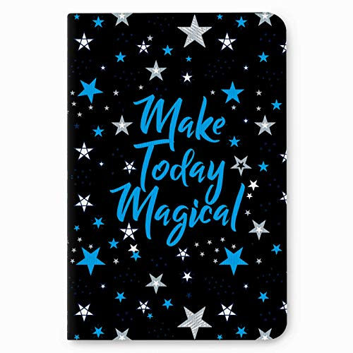 """Factor Notes Journal Diary Notebook Ruled - Make Today Magical - (B6/5"""" x 7""""/12cm x 18cm)"""