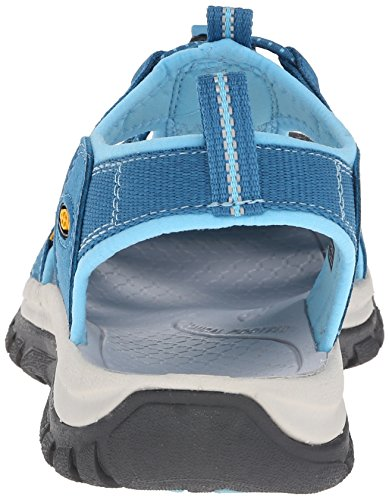 Keen Venice H2 W, Sandales Plateforme Femme Turquoise (Celestial/blue Grotto)