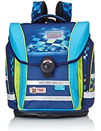 McNeill, Children Schoolbag Set, Multicoloured (Blau/Neongrün), 43 cm ( EU)