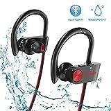 Bluetooth Kopfhörer, Letsfit IPX7 Wasserdicht Sport Kopfhörer Kabellos, 8 Stunden Spielzeit, Laufen Ohrhörer In Ear Kopfhörer mit fon für Gym Fitness Joggen Workout