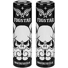 2 x Fogstar 18650 3,7V 3500mAh 10/20A Batterie Rechargeable Premium - Non protégée