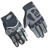 Aero Sport® Handschuhe BMX Downhill, Herren, Silber/Schwarz, Medium