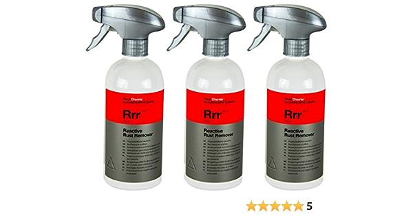 Koch Chemistry 3x Rrr Reactive Rust Remover Flight Rostent Acid Free Remover 500 Ml Auto
