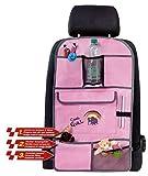 Rücksitzorganizer Rückenlehntasche Rücksitzschutz Cool Girl Rosa 26019
