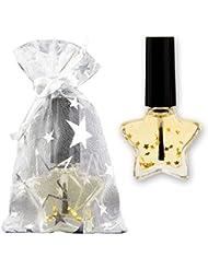 XMAS Nagelöl für Weihnachten Nagelöl im Sternfläschchen mit Mesh-Beutel, 10ml