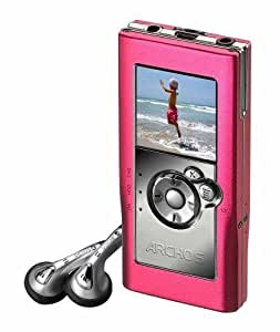 Archos Gmini XS 100 Tragbarer MP3-Player 3 GB pink