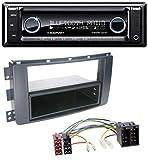 caraudio24 Blaupunkt Toronto 420 BT Bluetooth CD SD USB MP3 Autoradio für Smart ForFour 454 ForTwo 451 ISO