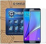 G-Shield Displayschutzfolie für Samsung Galaxy Note 5 (N920C) Gehärtetem Glas Schutzfolie Screen Protector Folie Displayschutz Anti-Kratz Ultra Klar 9H Härte