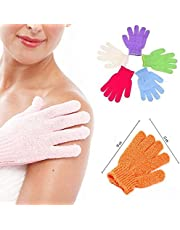 Pindia 1 Pair Bath Gloves Spa Massage Body Scrubber Cleaner
