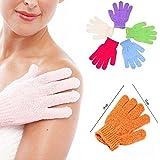 Pindia 1 Pair Bath Gloves Spa Massage Body Scrubber Cleaner