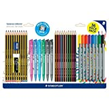 New Staedtler Stationery 36 Piece School Pens Pencils Eraser Sharpener Set