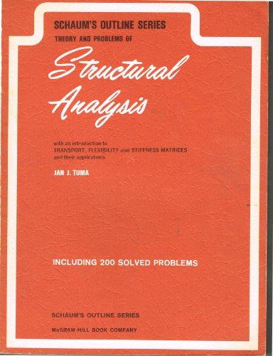 Schaum's Outline of Structural Analysis (Schaum's outline series) por Jan J. Tuma