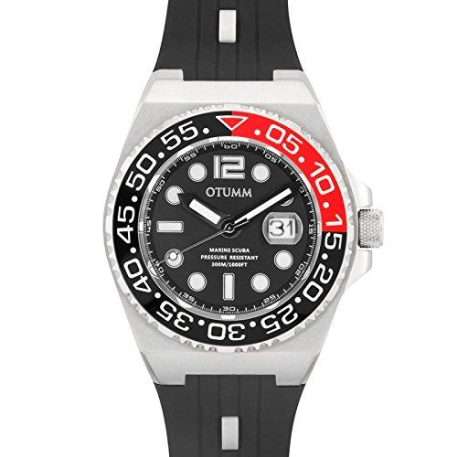 Otumm Scuba Edelstahl 01 Schwarz 45mm Unisex Scuba Uhr
