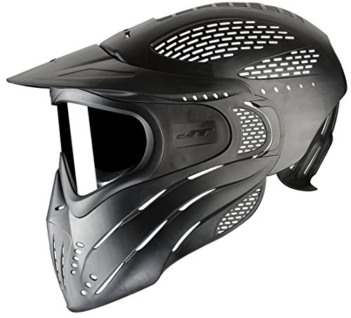 JT Premise Headshild Paintball Maske, Single Glas, schwarz
