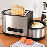 2 Wide Slot Toaster and Egg Boiler, Fryer Poacher, Cooker