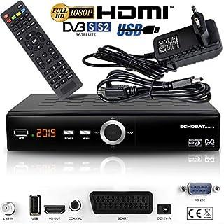 Echosat 20900 M Digital Satelliten Sat Receiver - (HDTV, DVB-S/S2, HDMI, SCART, 2X USB 2.0, Full HD 1080p) [Vorprogrammiert für Astra Hotbird Türksat]