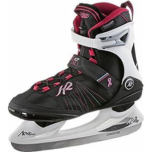 K2 Damen Schlittschuhe ALEXIS ICE Pro – schwarz-weiß-rot – 25B0104.1.1