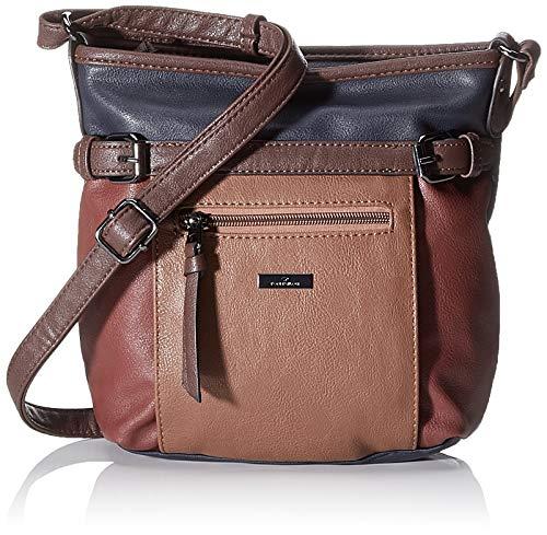 TOM TAILOR Umhängetasche Damen Juna Flash, Mehrfarbig (Multi), 26x24x7.5 cm, TOM TAILOR Handtaschen, Taschen für Damen, klein