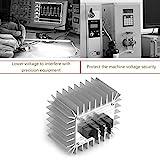 Footprintse Elektronischer Spannungs-Regler-Schalter 5000W AC 220V Regler der hohen Leistung (Farbe: Silber)