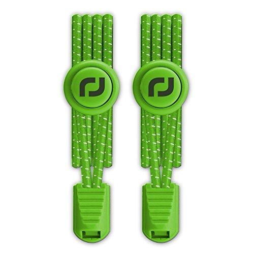 Preisvergleich Produktbild RJ-Sport Elastische Schnürsenkel mit Schnellverschluss – Schnellschnürsystem für einzigartigen Komfort,  perfekten Sitz und starken Halt - 1 Paar