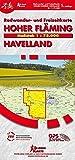 Hoher Fläming / Havelland: Rad- und Freizeitkarte, Maßstab 1 : 75.000