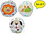 Baby Bucket Unisex Reusable Cartoon Embroidery Breathable Soft Cotton Diaper Panties, 6 to