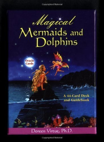Magical Mermaids and Dolphin Oracle Cards: A 44-Card Deck and Guidebook by Virtue, Doreen (3/1/2003)