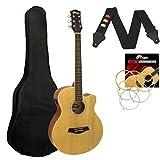 Tiger ACG4-NT Un Pack Guitare - Électro-acoustique - Naturel