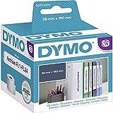 Dymo S0722470 LabelWriter Etikettenrollen , 38 x 190 mm, weiß