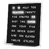 LED Word Clock by Princess International, Inc.