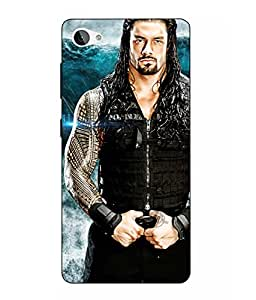 Case Cover Roman Reigns Printed Blue Hard Back Cover For Lenovo Z2 Plus