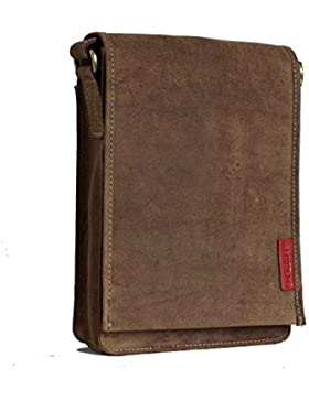 Kleiner Unisex Messenger-Bag / Herrentasche aus geöltem Buffalo Leder . The 'Everyday' Bag.