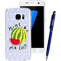 Yokata Samsung Galaxy S7 Hülle Transparent Glitzer Weiche Silikon Handyhülle Schutzhülle TPU Handy Tasche Schale... preisvergleich bei billige-tabletten.eu