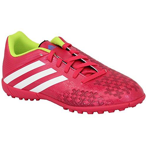 Adidas - Chaussures Football Gazon et Indoor Enfants A Lacets et en Maille FUCHSIA - ADD67750