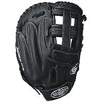 Louisville Slugger–Set Xeno primera Base guantes, negro/blanco