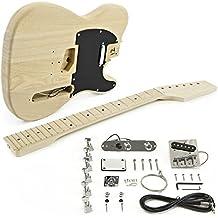 Kit de Bricolaje de Guitarra Eléctrica Knoxville - Cuerpo de Fresno