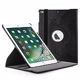 EasyAcc 360 Grad Drehung Schutzhülle für iPad 9.7 2017 Flip Case Book Cover Hüllen Ledertasche...